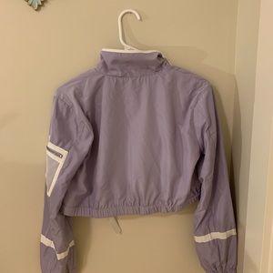 Forever 21 Jackets & Coats - Lavender cropped Windbreaker Forever 21